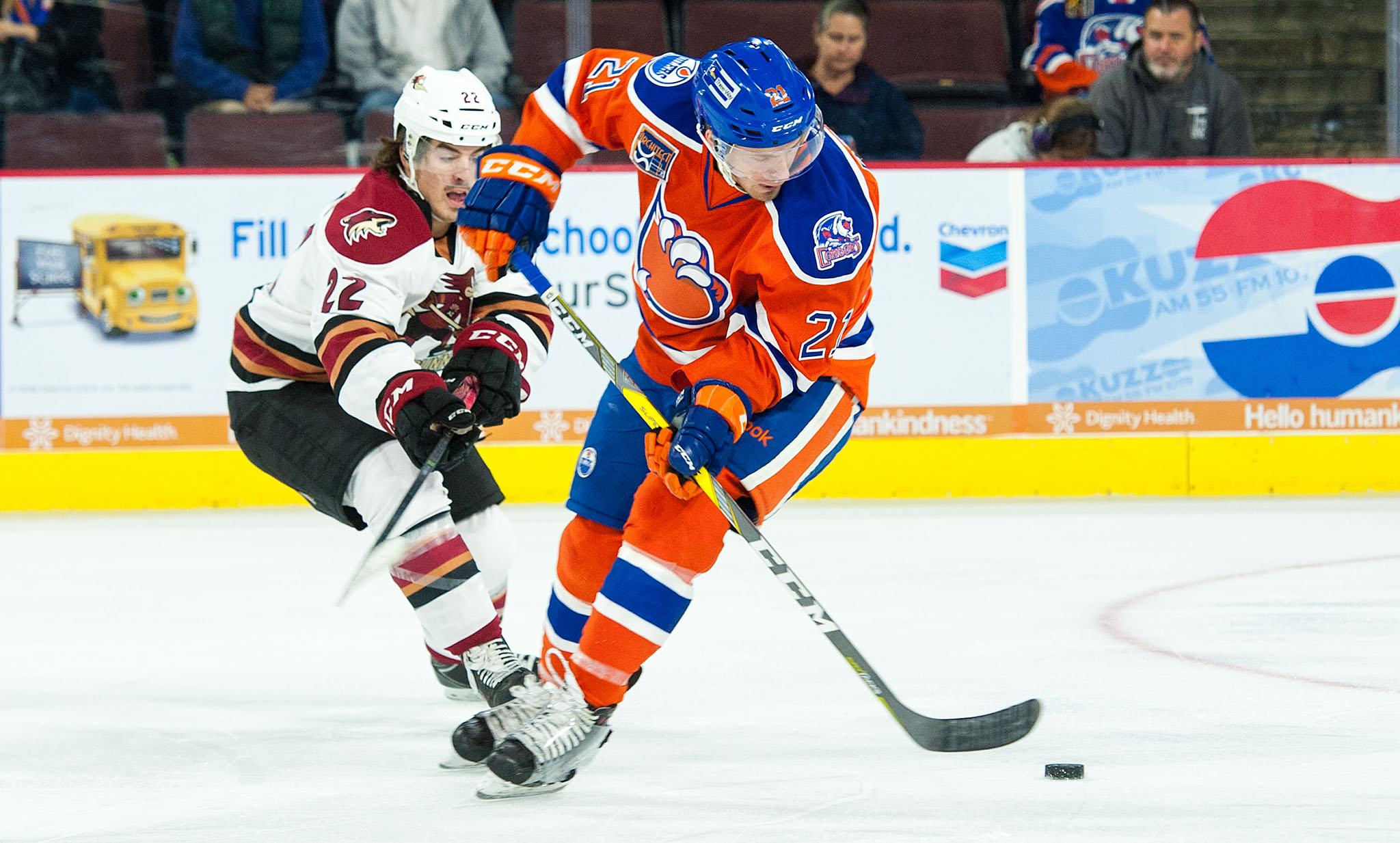 The Official Website of the Tucson Roadrunners: NEWS & STATS