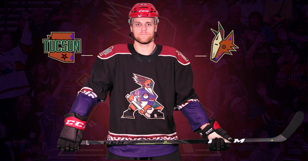 b66bad6a7 Roadrunners Announce Black Kachina Sweater as Team's Official Third Jersey