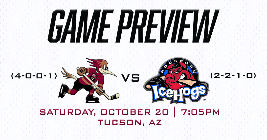 The Official Website of the Tucson Roadrunners: What's Up