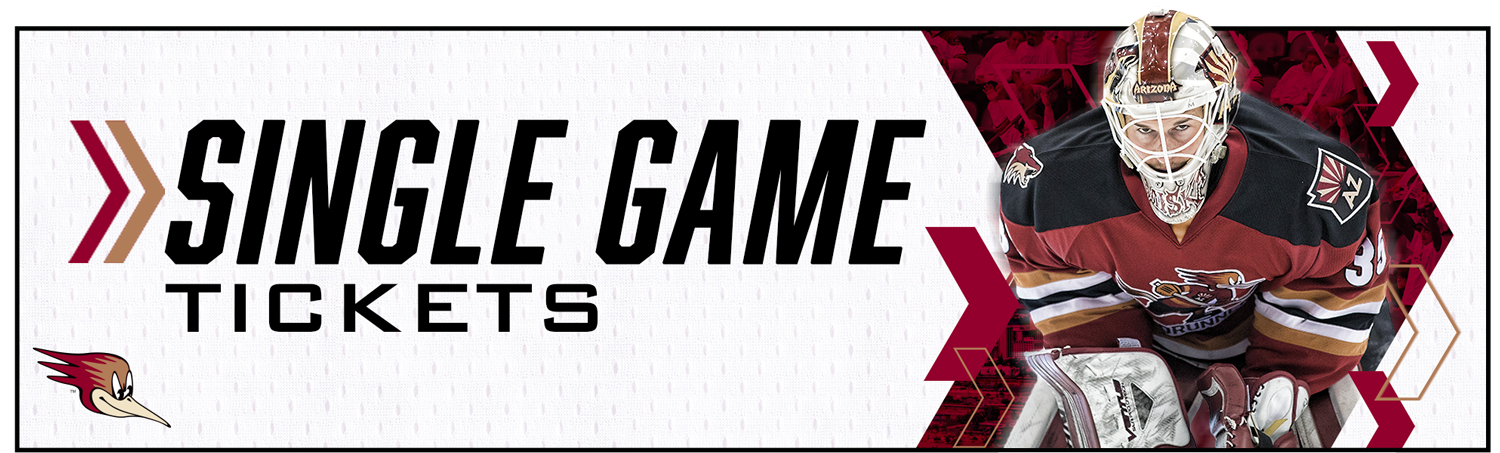 The Official Website of the Tucson Roadrunners  Single Game Tickets 1df366d80